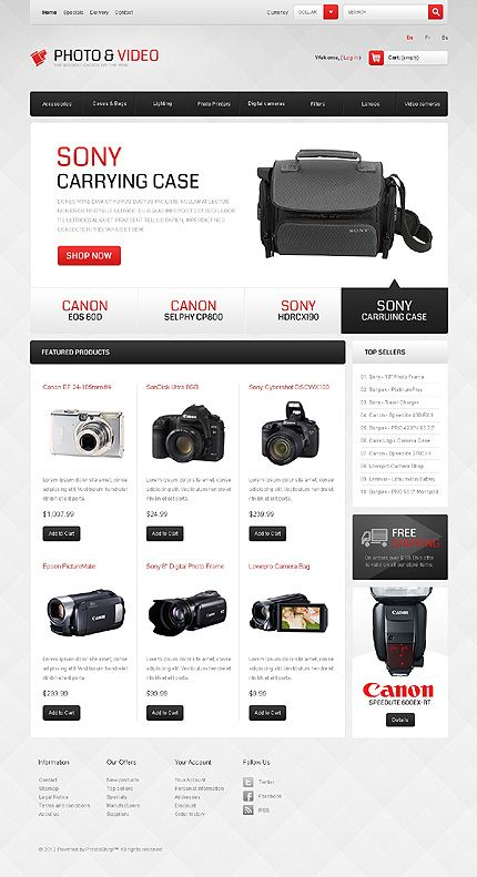 Photo & PrestaShop Themes by Ares