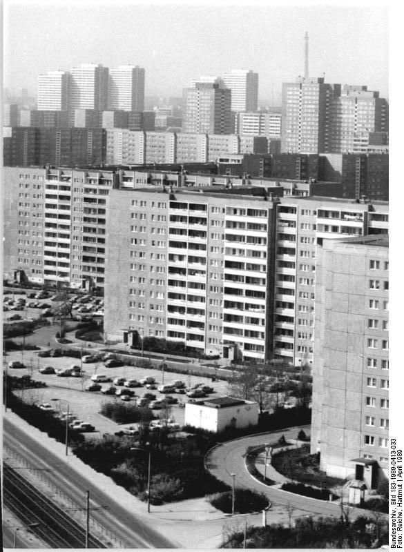 Berlin Marzahn April 1989