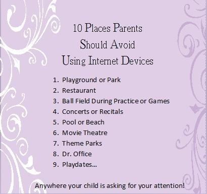 Parent/Child Disconnect