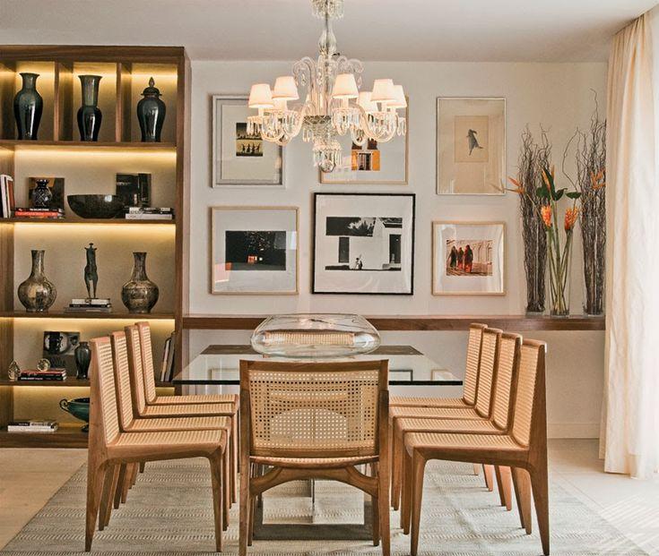 Decor Salteado - Blog de Decoração | Arquitetura | Construção | Paisagismo: Salas de jantar-50 modelos maravilhosos e dicas de como decorar!