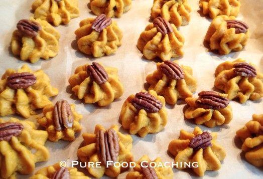 Recept: Zachte pompoenkoekjes met pecan en rozijnen