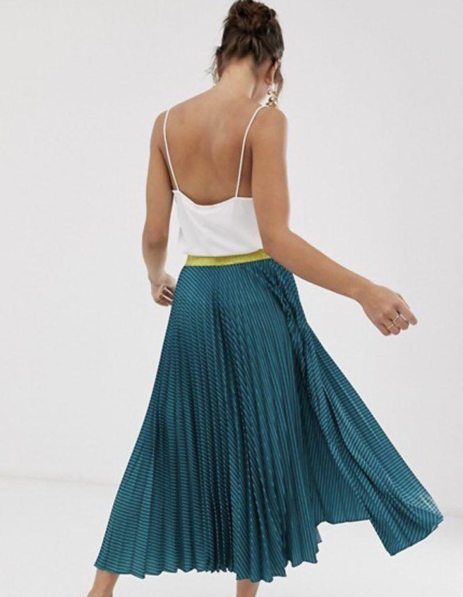 Cómo Combinar Una Falda Plisada Invitadas De Boda Faldas Plisadas Maxi Faldas Plisadas Falda Midi Boda