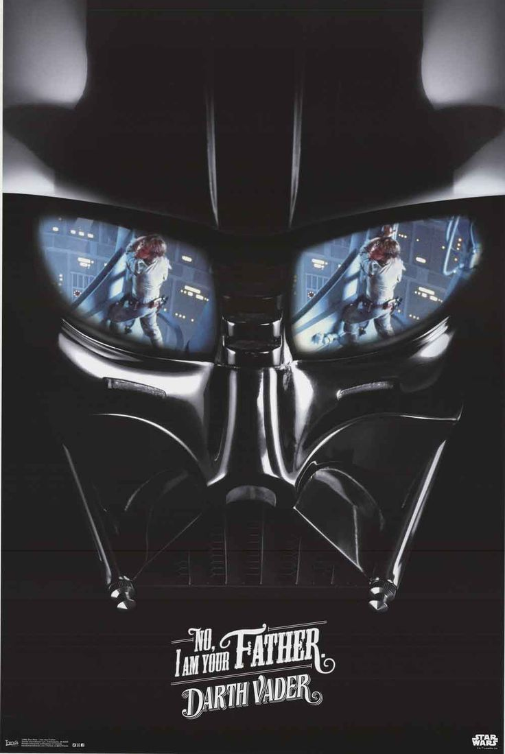 Star Wars Darth Vader I Am Your Father Movie Poster 22x34                                                                                                                                                                                 More