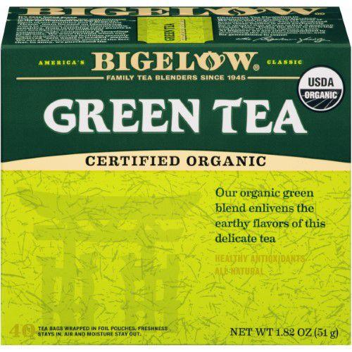 Bigelow Tea Organic Green Tea 40 Tea Bags   Jet.com