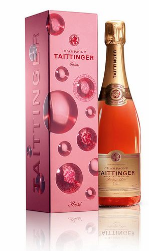 #Champagne Taittinger, the perfect gift for #ValentinesDay! #WMhappyhour