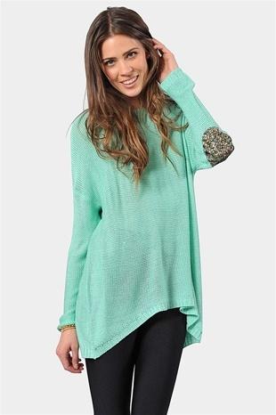 Pretty mint sweater