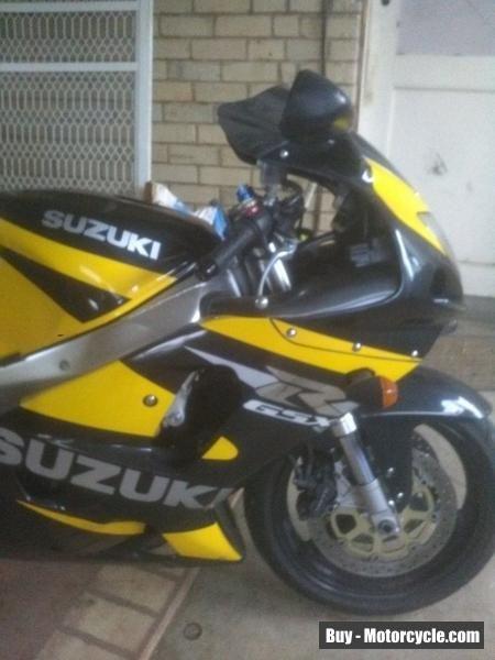 Suzuki GSXR 750 motor bike #suzuki #gsxr750 #forsale #australia