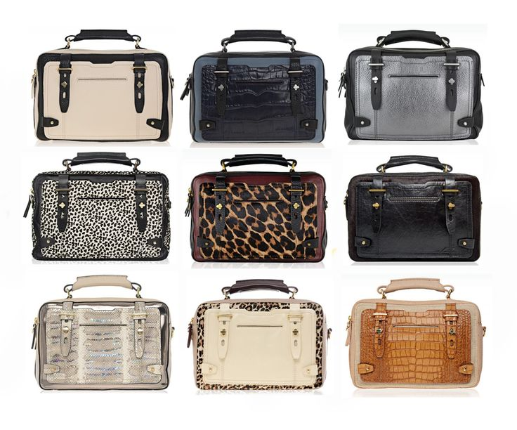 Aigner Stag Bag.  Be still, my heart.