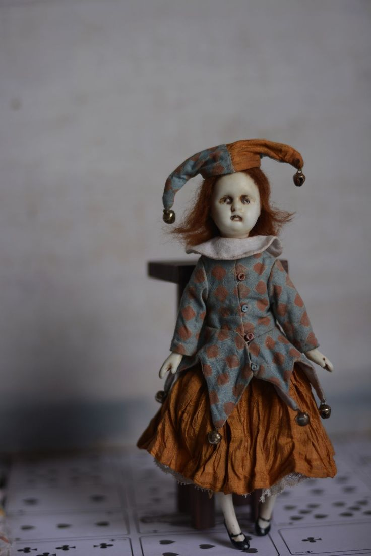 Купить Фантеска - фарфор, фарфоровая кукла, коллекционная кукла, винтаж, винтажный стиль, итальянский стиль