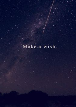 gif pretty gorgeous landscape space stars nature shooting star wish vertical make a wish Meteor shooting star gif