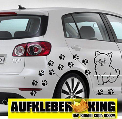 Cats Sticker Set , 20 pieds environ 5cm ainsi chat , autocollants pour voiture , des autocollants, lunette arrière , peinture , tatouage