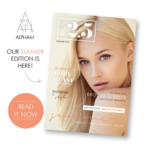 Take a journey through our summer edition of pH2.5 magazine where you will discover the latest warm weather essentials in fashion, beauty, destination and lifestyle http://ow.ly/FoegR
