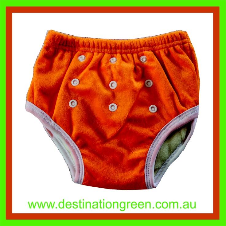 Reusable Training Pants - orange, $8.50