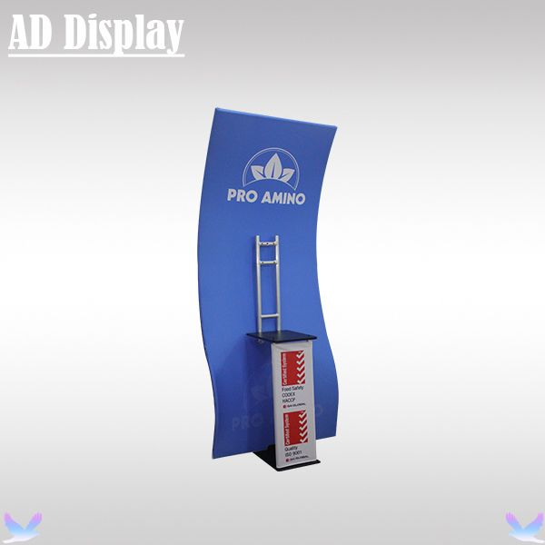 Portable TV Stand With Your Own Design Banner Printing,Exhibition Booth Advertising Tension Fabric Display Stand