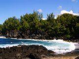 Photo de Voyage à la Réunion n°4 : Petit coup de Vent ce jour là au Souffleur au Sud de Saint-Leu !