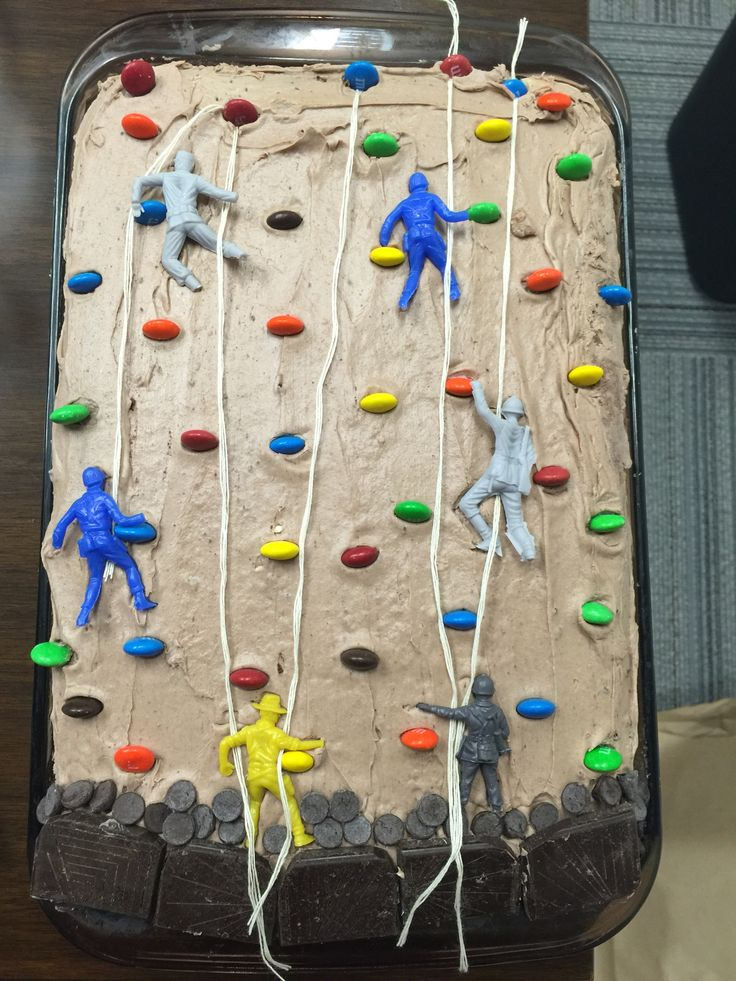 Rock Climbing Cake Decorating Ideas
