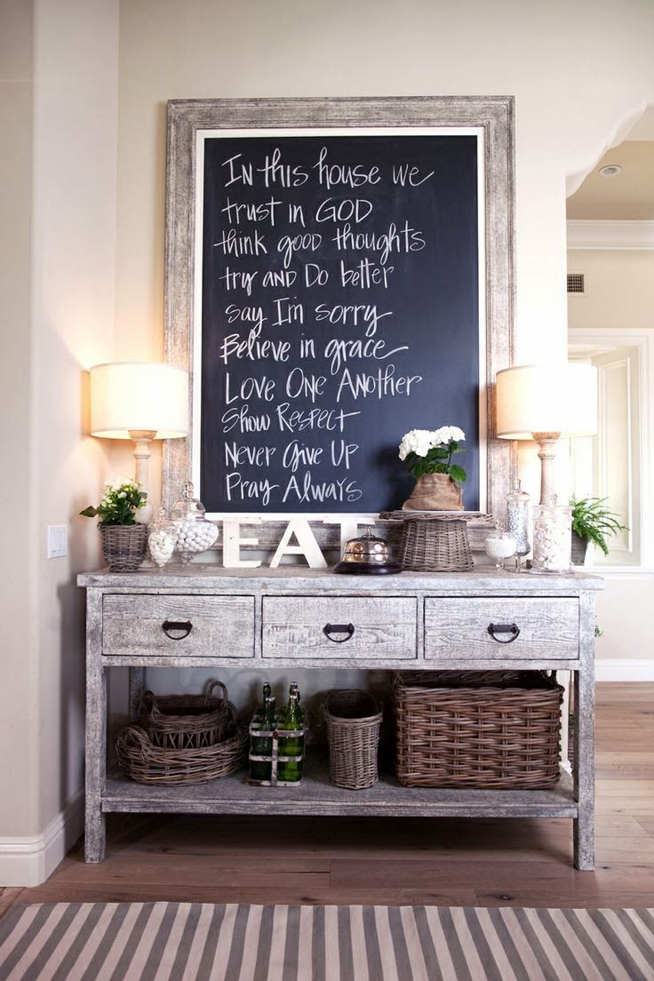 Esszimmerwanddekor rustikal  besten furniture bilder auf pinterest  buffettische eingang