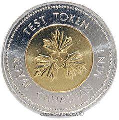 1996 Canada 2 Dollar Test Token
