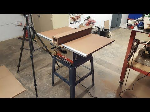"""""""How To"""" Turn a Crappy Table Saw into a Good One - YouTube"""
