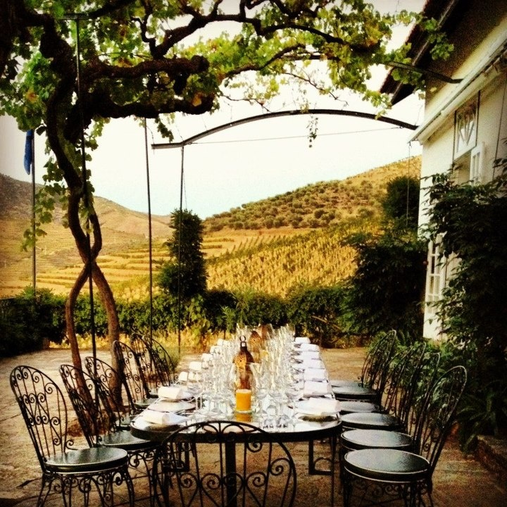 dinner in the Douro Valley #wine #port