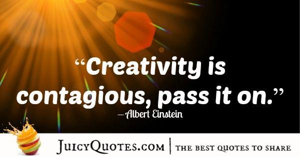Quote About Inspiration - Albert Einstein