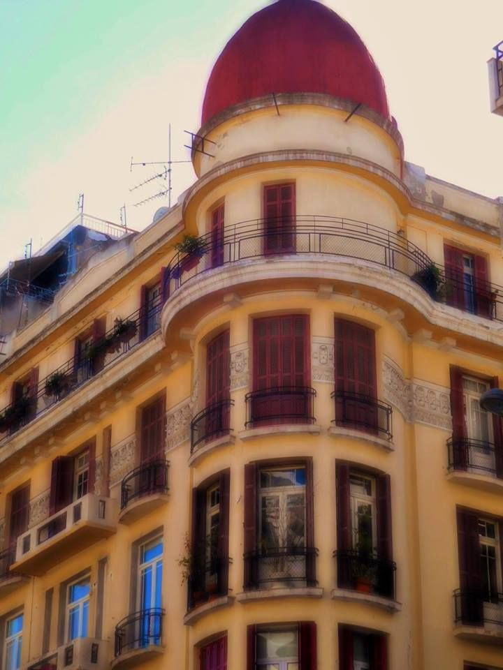 Κτίριο Γ. Γραμματικού, Τσιμισκή με Χρυσοστόμου Σμύρνης (Αρχιτέκτονες Γ. Μαλάκης – Γ. Ζωγράφος, 1928) Thessaloniki 2016. Photo by VoulaT