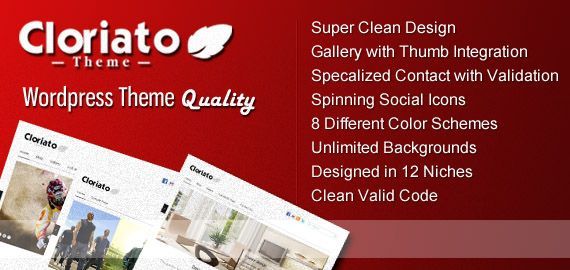 Simple and clean theme for your website only $45 ^^