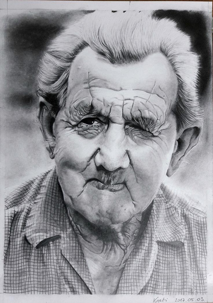 Portré - Kun Gabriella: Nagypapa
