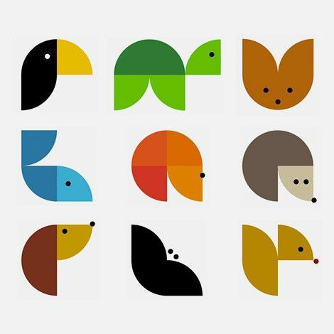 Animals, Graphic art and Graphics on Pinterest