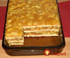 Ak máte radi jablká, tento dezert vás určite poteší. Je jednoduchý na prípravu a čo je najlepšie, zvládnete ho rýchlo a najmä bez pečenia!