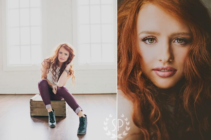 simplicity photography indoor winter senior portraits