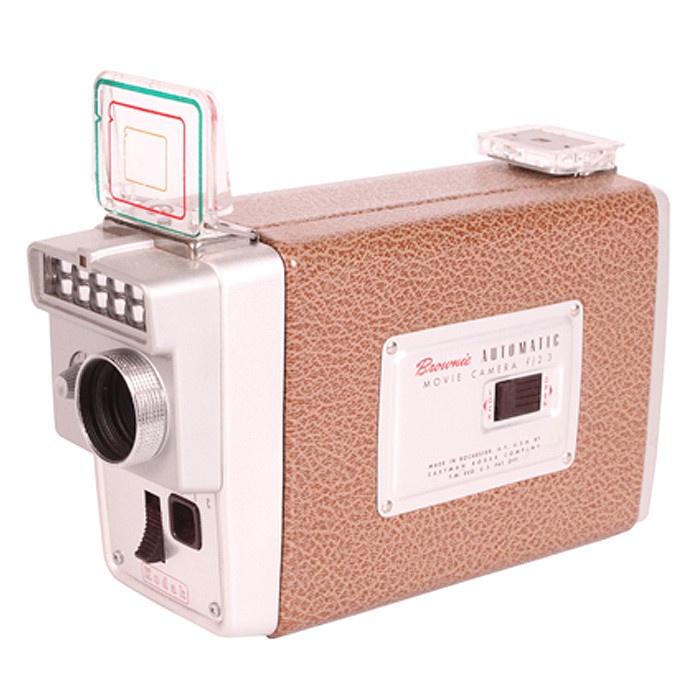 Vintage Kodak Brownie f/2.3 Movie Camera