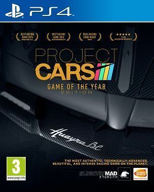 Project Cars - Game of The Year Edition (PlayStation 4) - Slightly Mad Studios