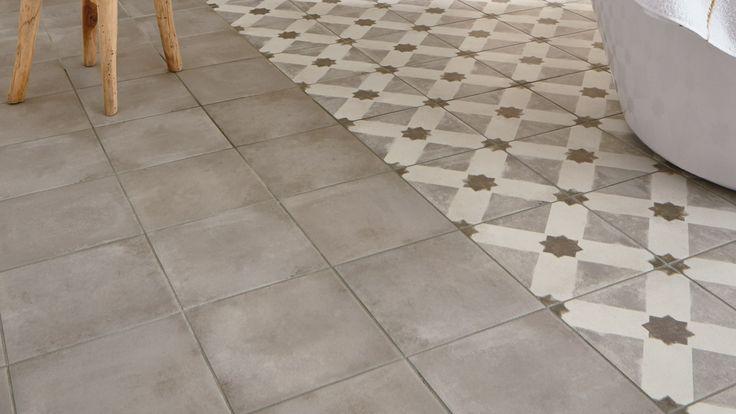 Carrelage Carrelage Casual cemento gris