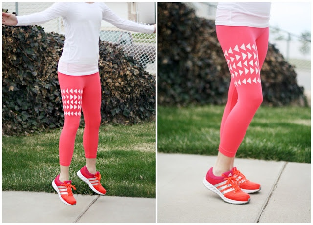 PLA DIY: Patterned Leggings/Yoga Pants| http://prettylifeanonymous.blogspot.com/