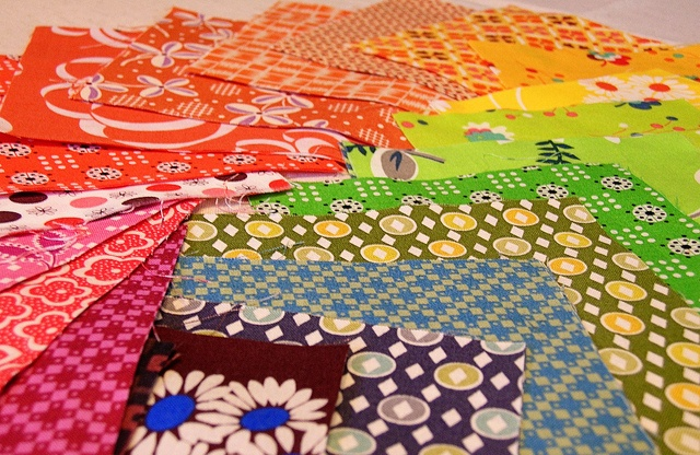 Fabric for my giveaway! by greenleaf goods, via Flickr: Sew Mama Sew, Blocks Galore, Fabric Envy, Quilt Blocks, Greenleaf Goods