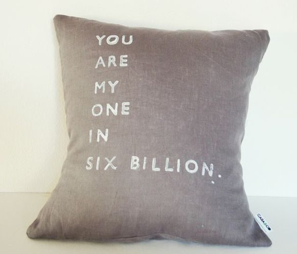 You Are My Only Pillow - Valentines Day - Shops Uncovet
