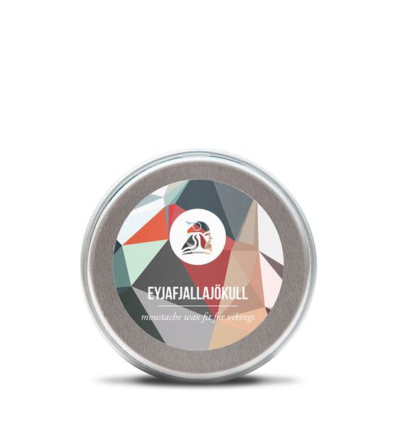 This moustache wax is named after the infamous glacier Eyjafjallajökull, that everyone loves to pronounce. The wax is simply Christmas in a tin.