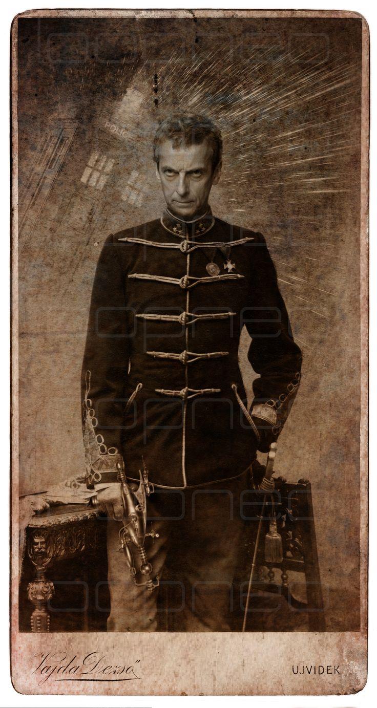Peter Capaldi - Duodécimo Doctor / Twelfth Doctor  Doctor Who - STEAMPUNKER #loopneo #steampunk #steampunkbijoux #photoshop #Drwho en.wikipedia.org/...
