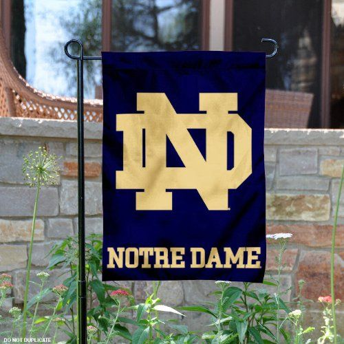 Notre Dame Garden Flag and Yard Banner College Flags and Banners Co. http://www.amazon.com/dp/B00DVQQPE0/ref=cm_sw_r_pi_dp_Lv.axb0MXJT68