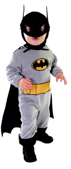Amazon.com: Authentic Baby Batman Costume - Infant: Clothing