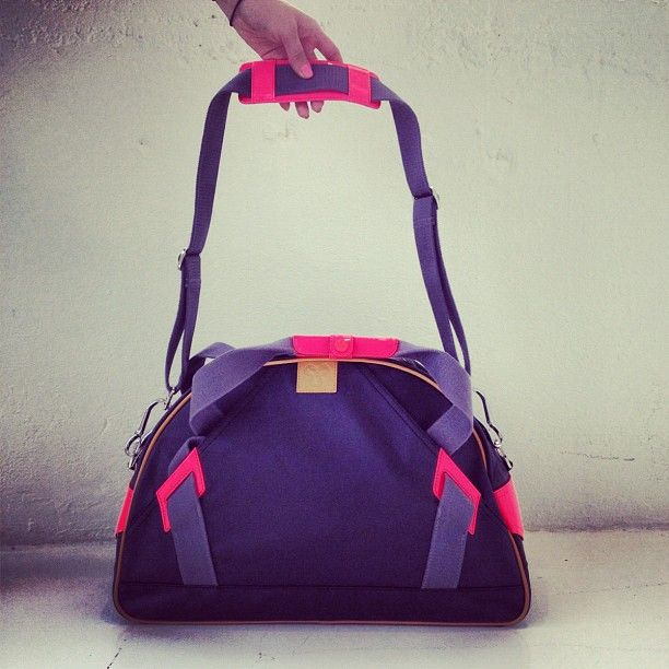 Looking for the perfect gym bag? Found it. Our TNA cotton canvas bag (item #44578) hits stores this month!