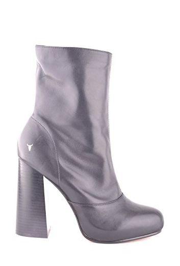 Windsor Smith Damen Mcbi372003o Schwarz Leder Stiefeletten - Stiefel für frauen (*Partner-Link)