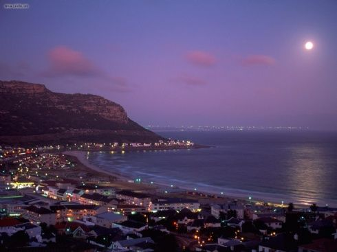 Fish Hoek By Moonlight South Africa