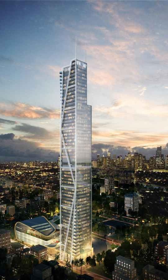 Trump Tower Manila - design by Broadway Malyan
