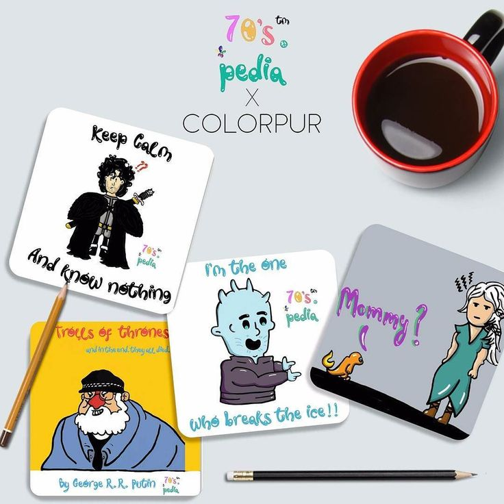 Game of Thrones anyone?  Buy these beautiful coasters only at www.colorpur.com  . . . . . . . #colorpur #gameofthrones #got #asoiaf #georgerrmartin #khaleesi #khaldrogo #lannister #stark #wolf #freepeople #jonsnow #winteriscoming #coasters #art #Design #graphicdesign #Adobe #picoftheday #photoshop #illustrator #doodleindia #doodles #handdrawn #coffee #whitewalkers #bangalorebloggers #bangalore #mumbai