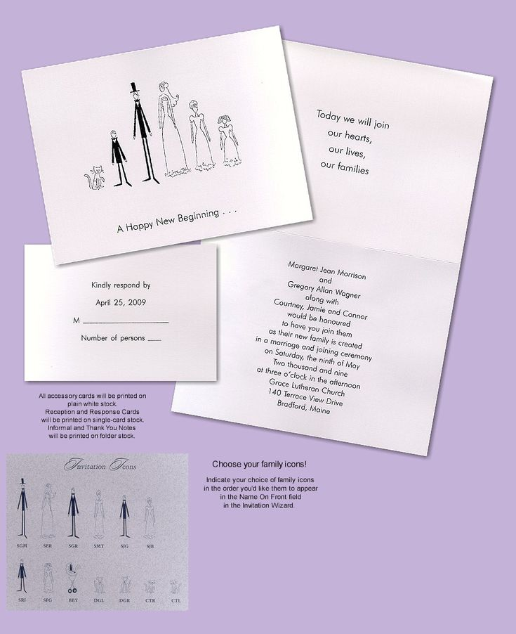 Family Marriage Invitation Wording Yahoo Search Results