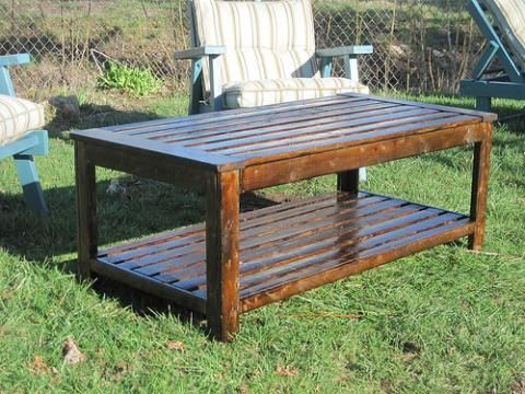 Ana White | Build A Build An Outdoor Coffee Table, Hamptons Outdoor Table  Collection |