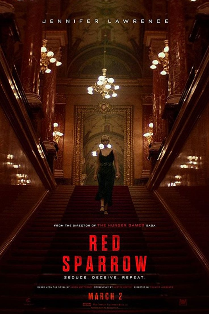 Image result for red sparrow movie poster 2018