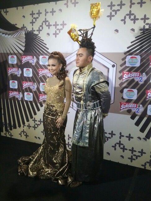 King Nassar duet bareng Rossa IDA 2015 Indosiar
